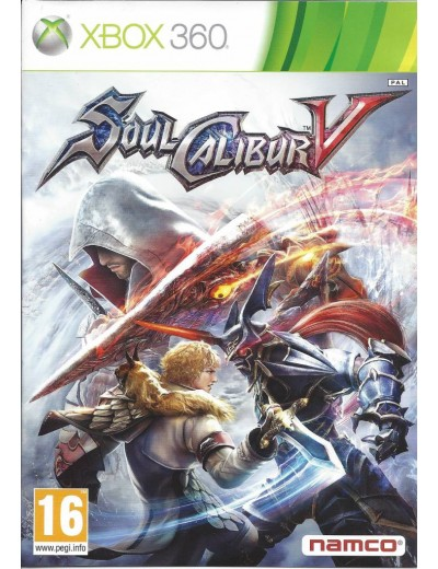 Soul Calibur V XBOX360 ANG Używana