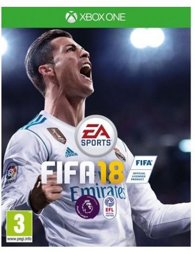 FIFA 18 XBOXOne POL Używana