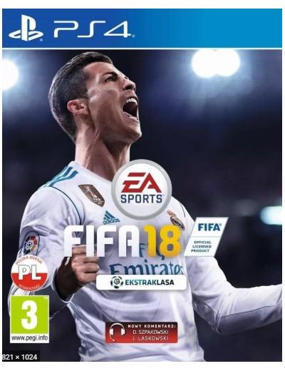 FIFA 18 PS4 POL Używana