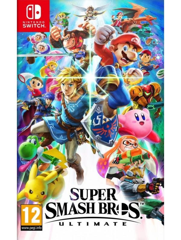 Smash Bros Ultimate Nintendo_Switch ANG Używana