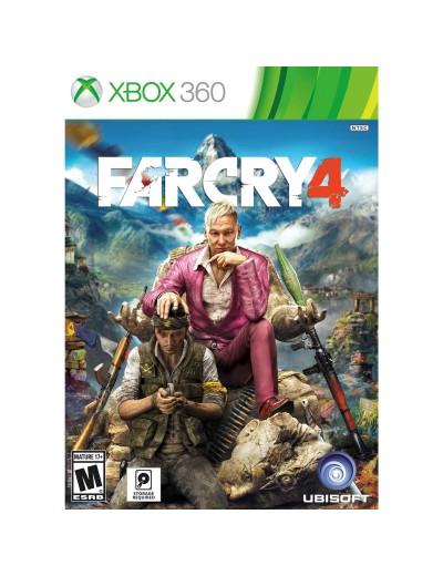 Far Cry 4 XBOX360 POL Używana