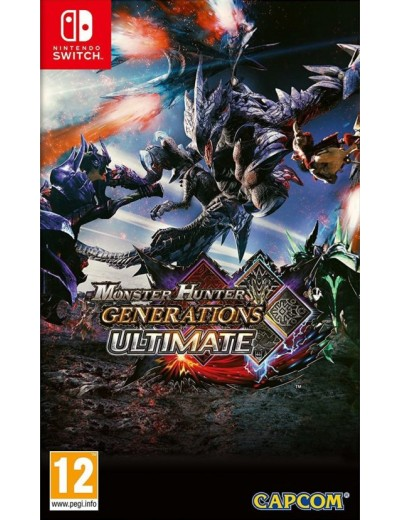 Monster Hunter Generations Ultimate Nintendo_Switch ANG Używana