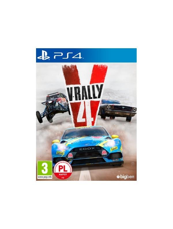 V-Rally 4 PS4 POL Używana