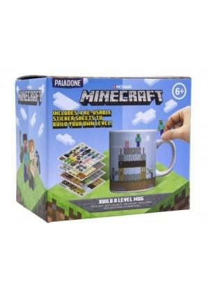 Kubek Minecraft z naklejkami Gadżety Nowa