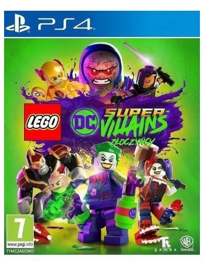 LEGO DC SuperVillains PS4 POL Używana