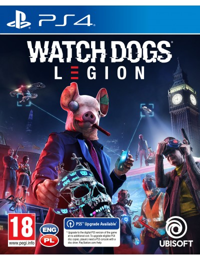 Watch Dogs: Legion PS4 POL Używana