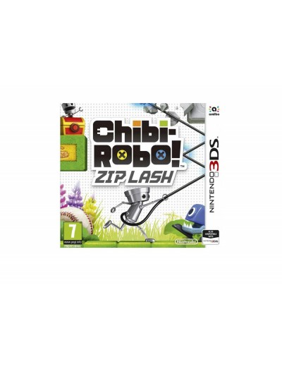 Chibi-Robo!Zip Lash 3DS ANG Nowa