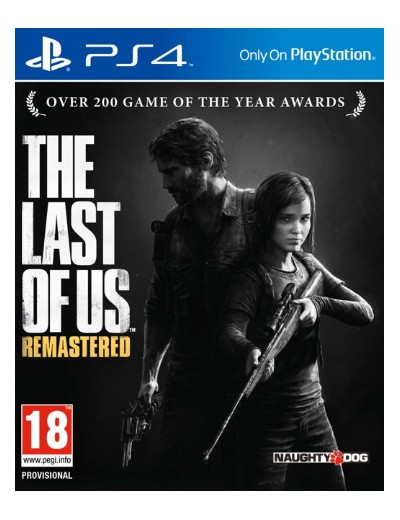 The Last of Us Remastered PS4 POL Używana