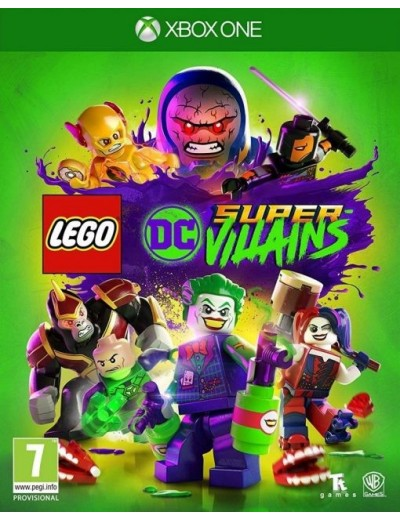 LEGO DC SuperVillains XBOXOne POL Używana