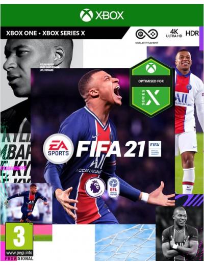 FIFA 21 XBOXOne POL Używana