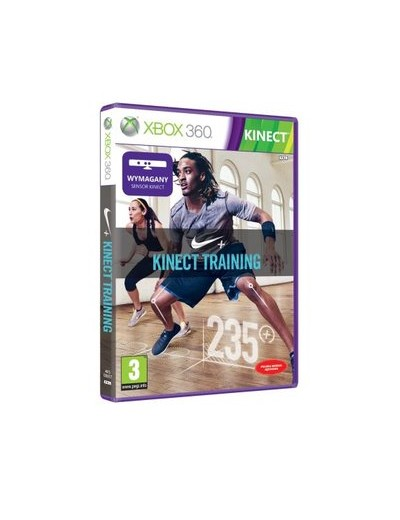 Nike+ Kinect Training XBOX360 POL Używana