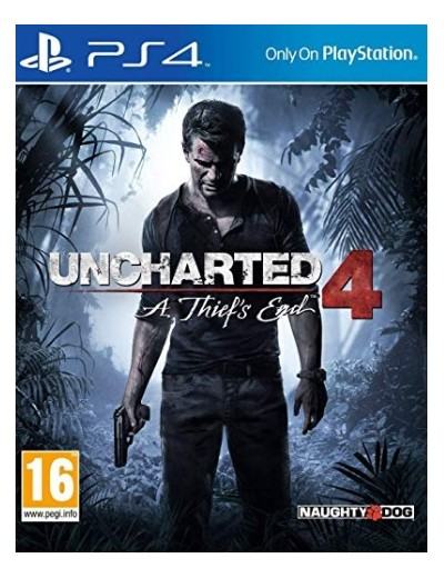 Uncharted 4: A Thief's End PS4 POL Używana