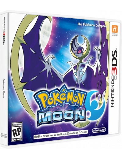 Pokemon Moon 3DS ANG Nowa