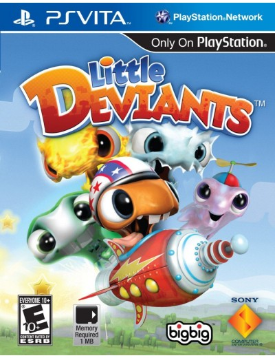 Little Deviants PS Vita POL Używana