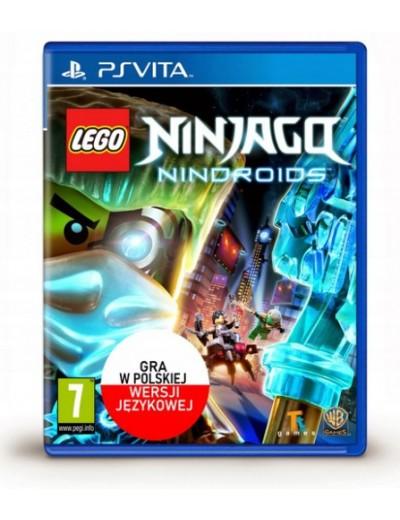 LEGO Ninjago: Nindroids PS Vita POL Nowa