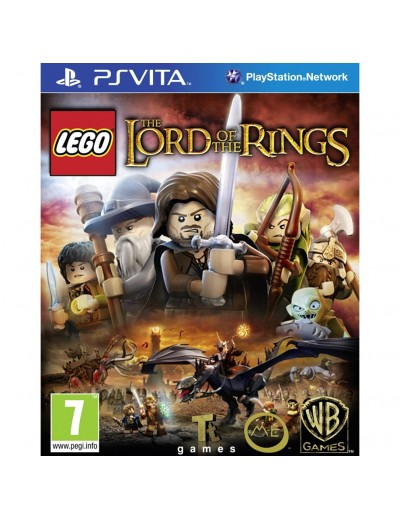 LEGO The Lord of the Rings PS Vita POL Nowa