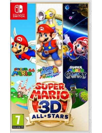 Super Mario 3D All-Stars Nintendo Switch ANG Nowa