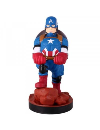 Figurka Kapitan Ameryka Stojak Uchwyt na Telefon lub Pad