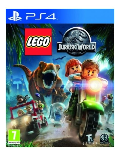 LEGO Jurassic World PS4 POL Nowa