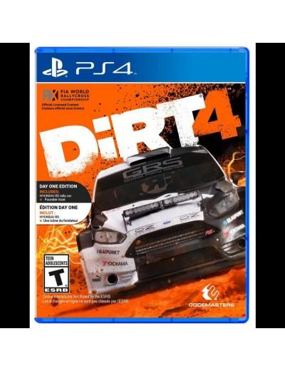 DiRT 4 PS4 POL Używana