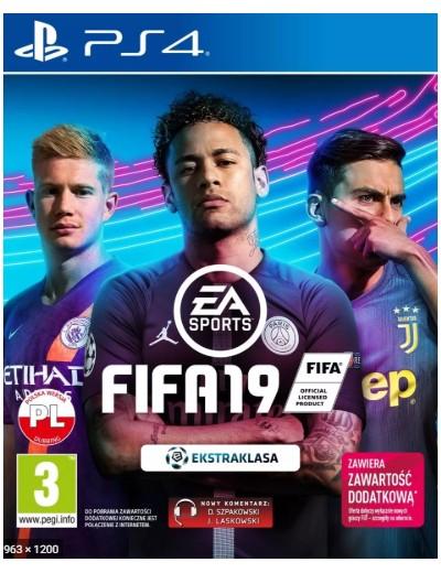 FIFA 19 PS4 POL Używana