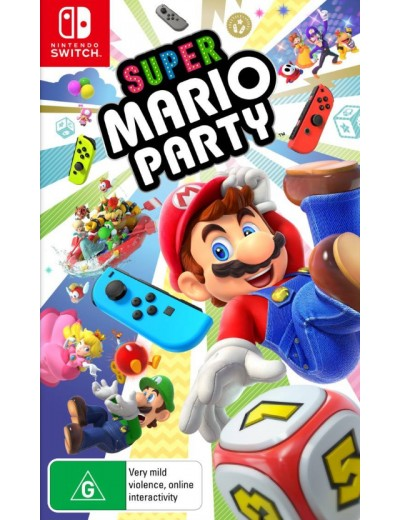 Super Mario Party Nintendo Switch ANG Używana
