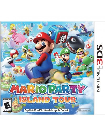 Mario Party Island Tour 3DS ANG Nowa