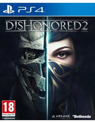 Dishonored 2 PS4 POL Używana
