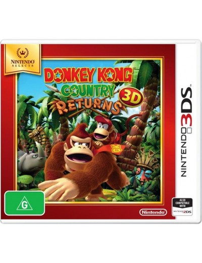 Donkey Kong: Country Returns 3DS ANG Nowa