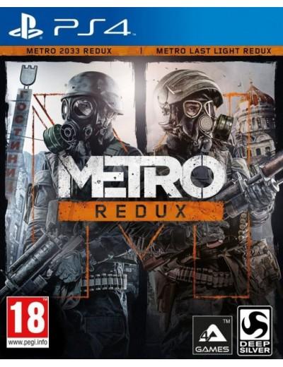 Metro Redux PS4 POL Używana