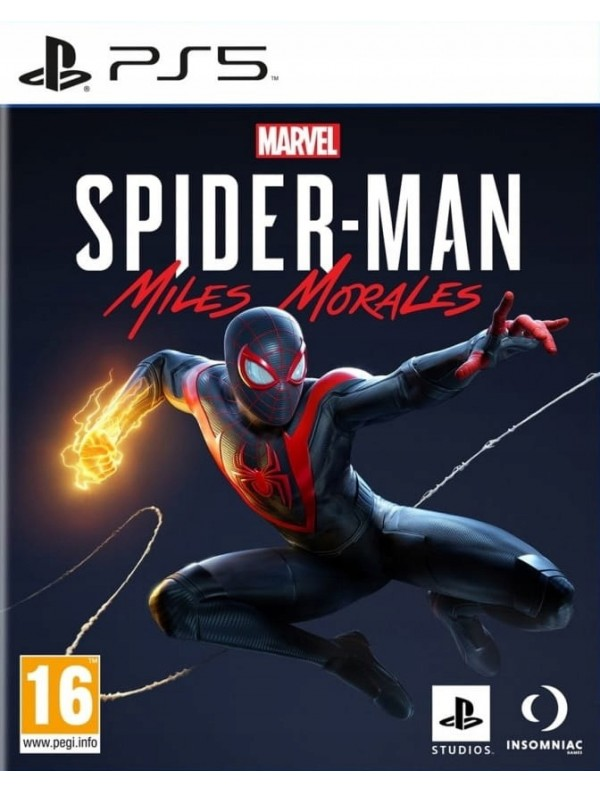 Spider-Man Miles Morales PS5 POL Używana