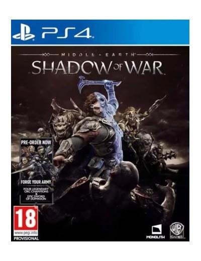 Middle-earth: Shadow of War PS4 POL Używana