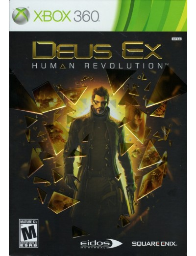 Deus Ex: Human Revolution XBOX360 POL Używana