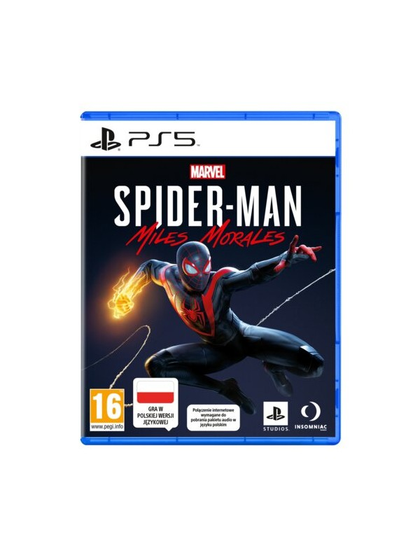 Spider-Man Miles Morales Deluxe Edition PS5 POL Używana