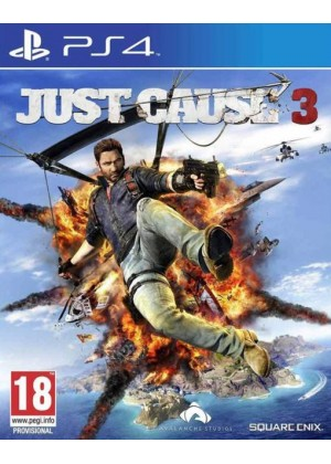 Just Cause 3 PS4 ANG Używana