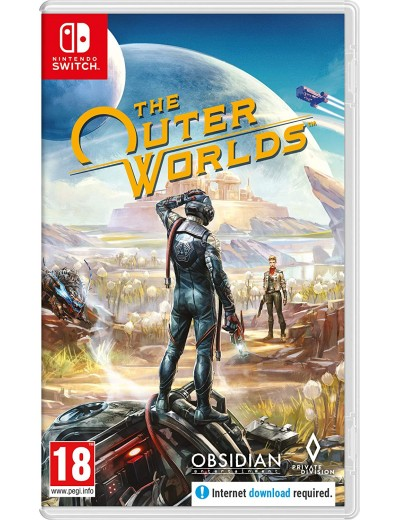The Outer Worlds Nintendo Switch ANG Używana