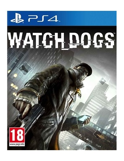 Watch Dogs PS4 POL Używana