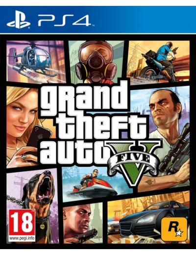 GTA V PS4 POL Używana