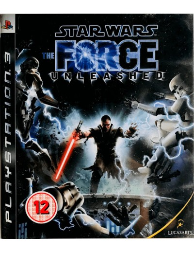 Star Wars: The Force Unleashed PS3 ANG Używana