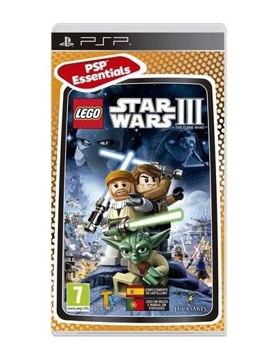 Lego Star Wars III The Clone Wars PSP ANG Używana