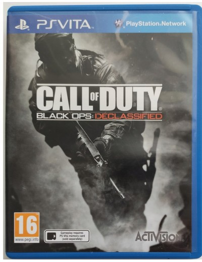 Call of Duty: Black Ops Declassified PS Vita POL Używana