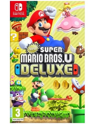 New Super Mario Bros U Deluxe Nintendo Switch ANG Używana