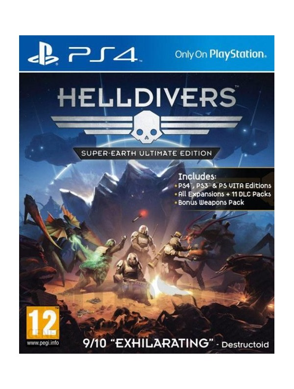 Helldivers: Super-Earth Ultimate Edition PS4 POL Używana