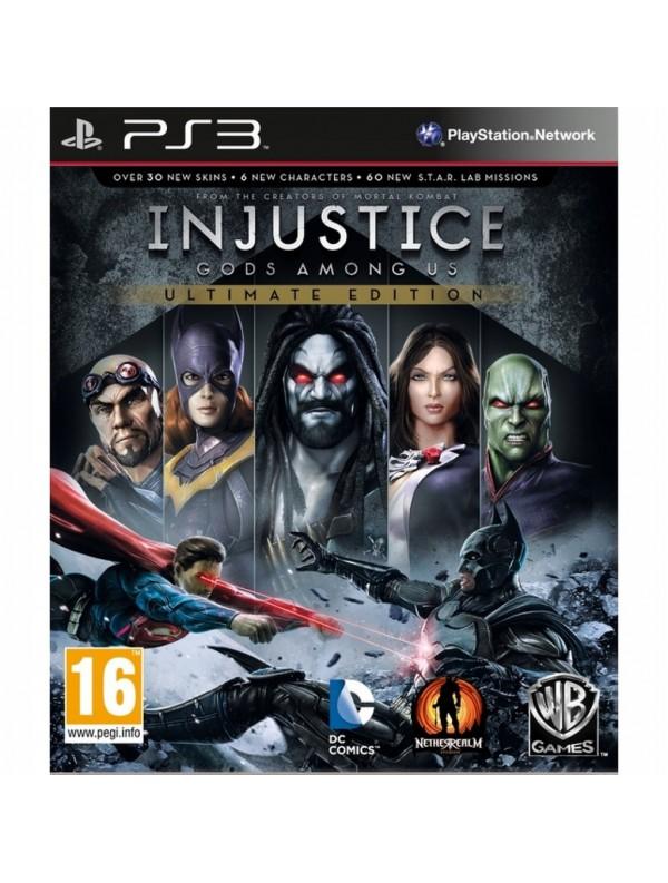 Injustice: Gods Among Us Ultimate Edition PS3 POL Używana