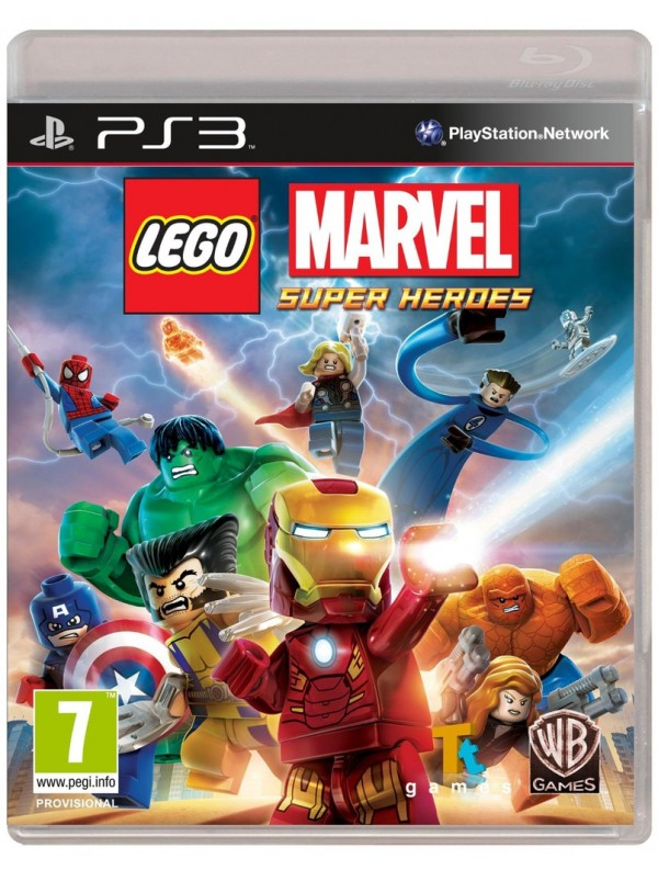 LEGO Marvel Super Heroes PS3 ANG Używana