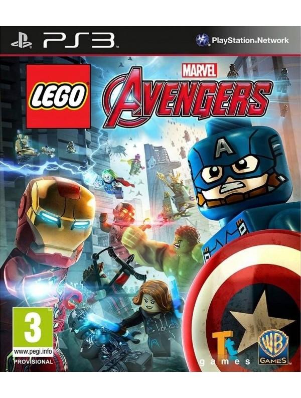 LEGO Marvel Avengers PS3 POL Używana