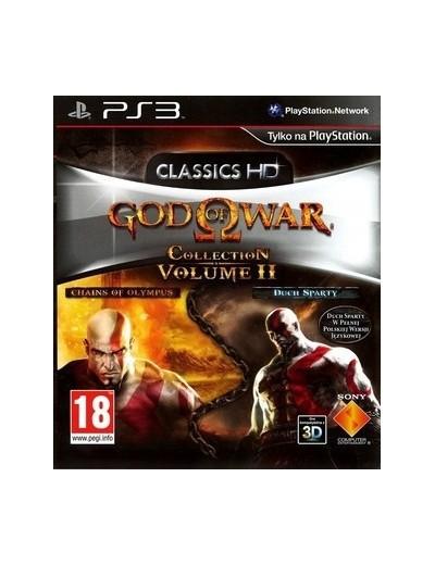 God of War Collection Volume II PS3 ANG Używana