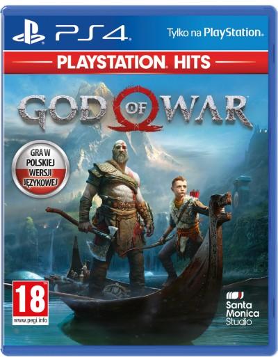 God of War PS4 ANG Używana
