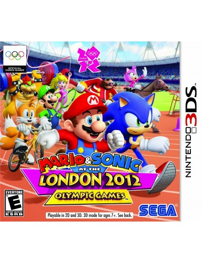 Mario & Sonic at the London 2012 Olympic Games 3DS ANG Używana