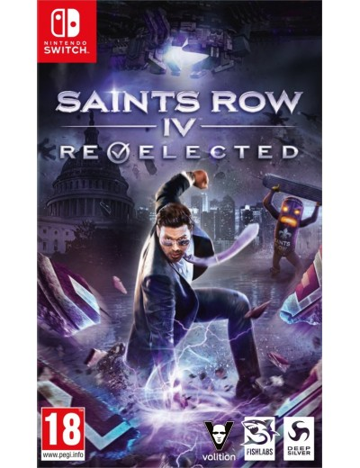 Saints Row IV Re-Elected Nintendo Switch ANG Nowa